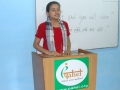 Speech by one our student